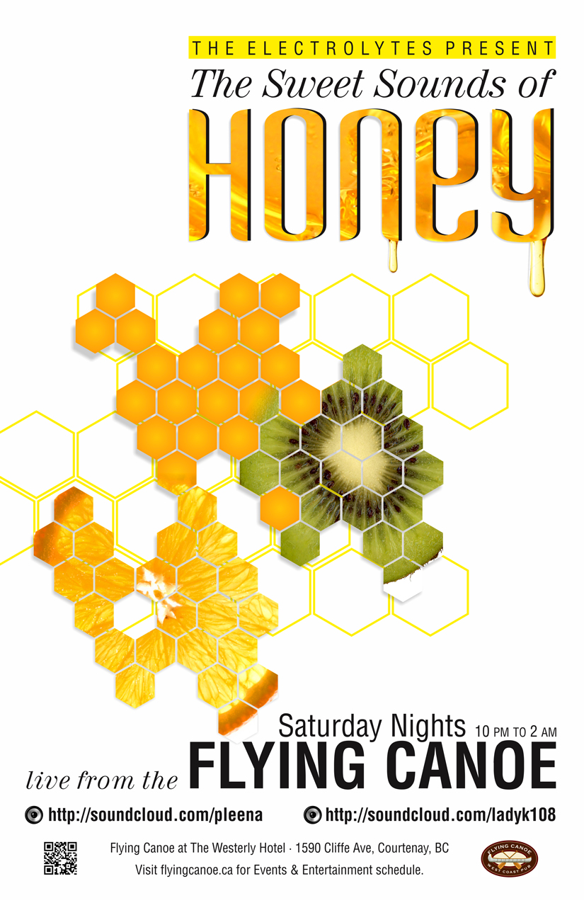 Honey Event Poster 2012