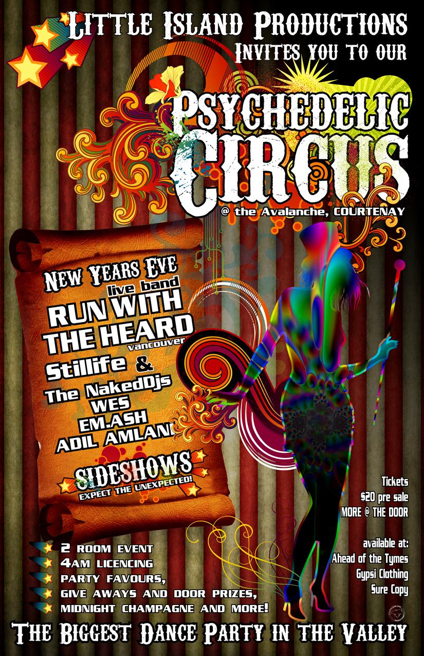 NYE Psychedelic Circus 2011