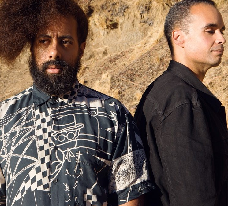 WAJATTA (Reggie Watts & John Tejada) live in The Mixmag Lab LA