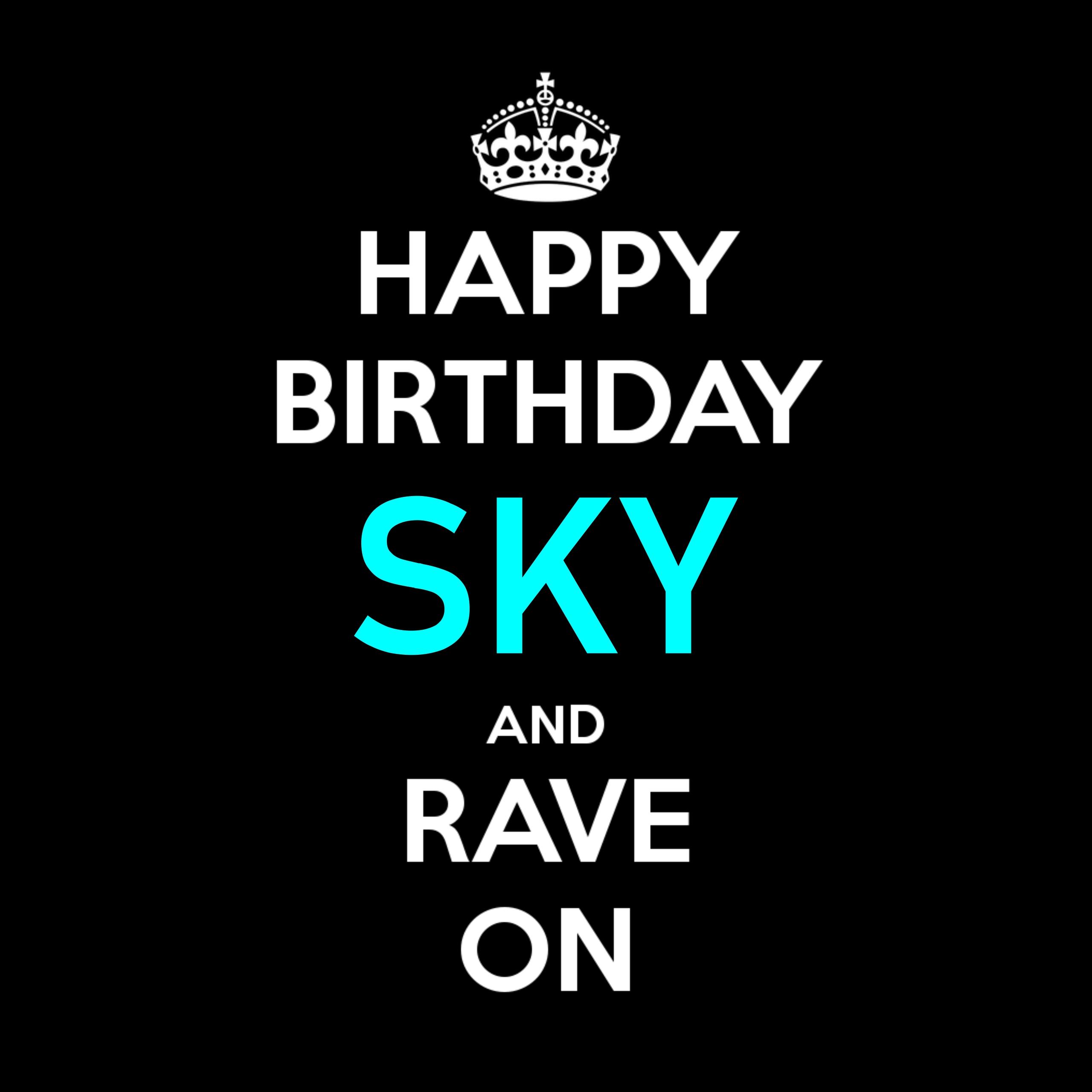 Sky's Birthday